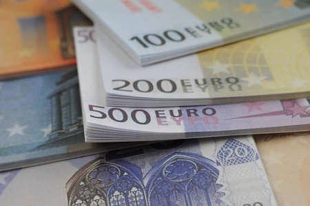 The money euro  Stock Photo