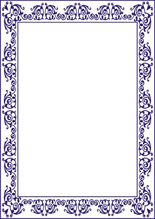 Certificats Frame Blank Template For A Certificate Or Diploma Stock