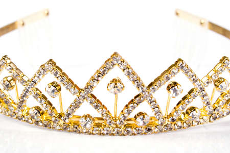 Queen crown. Isolate on white background Stock Photo - 1545003