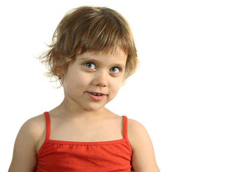 Pretty fun child look in to camera Stock Photo - 1585039