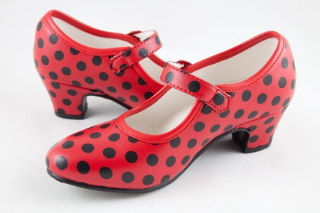 andalucia: sevillana shoes Stock Photo
