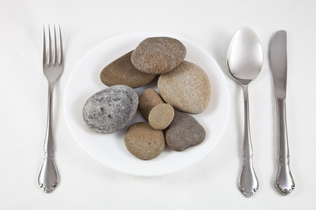 eating stones photo