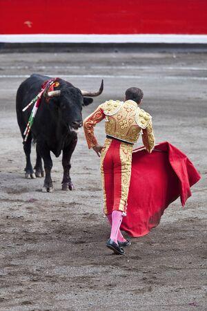 capote: bullfighter