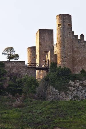 drawbridge: towers Stock Photo