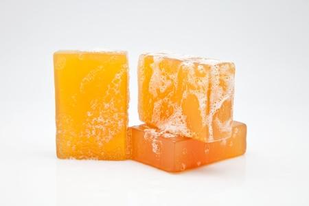 three bars of glycerine soap