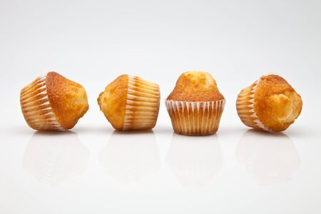freshly baked muffins golden four