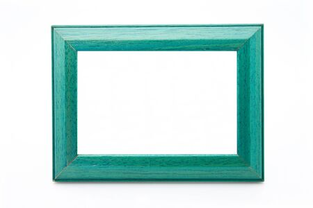 wood frame with green veins Stock Photo - 12214724