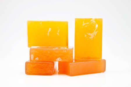 glycerin soap: five bars of glycerin soap