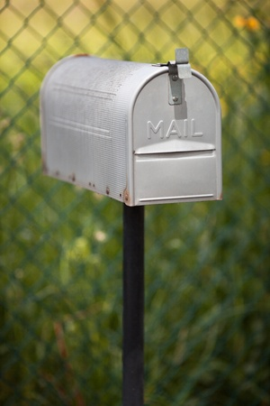 mailbox for delivery and collection letters