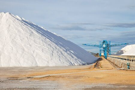 storage of salt from the sea