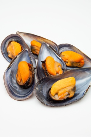 mussels cooked ready to eat