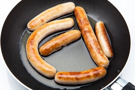 chorizos: pork sausages fried in oil