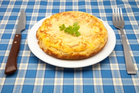 potato omelet ready to eat