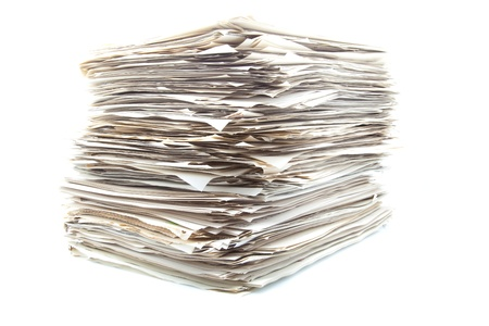 heap of roles ready to classify Stock Photo - 15086099