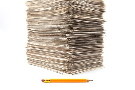 piled up roles of hanging work Stock Photo - 17454099