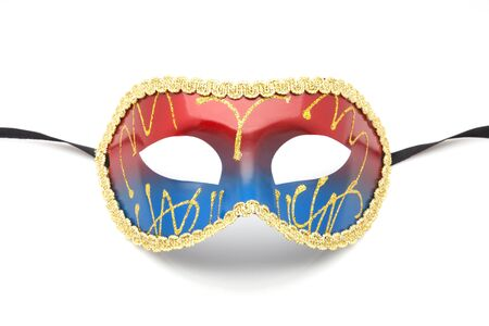 disguise: disguise mask on white fund Stock Photo