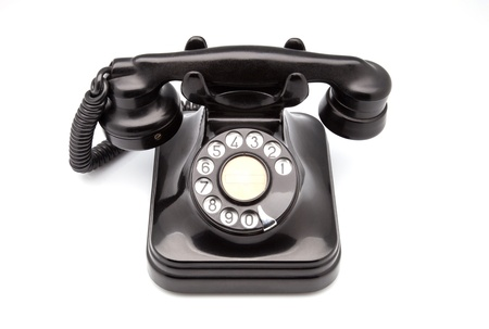 bakelite: phone retro made of bakelite