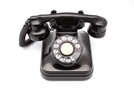bakelite: phone retro made of bakelite
