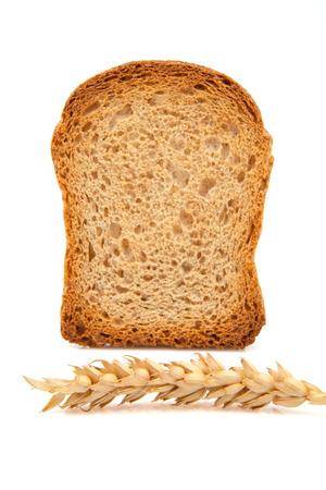 part of me: Pan tostado sobre blanco