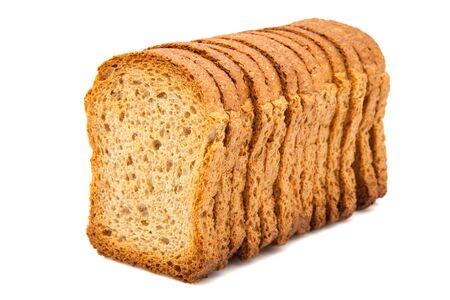 white fund: toast in line on white fund