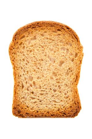 white fund: bread toast on white fund