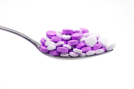 immune system: A spoon of purple tablets