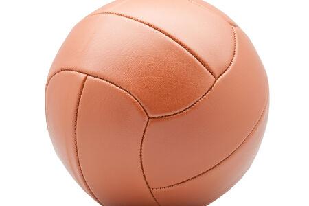 pelota de voley: voleibol, aislado en fondo blanco.