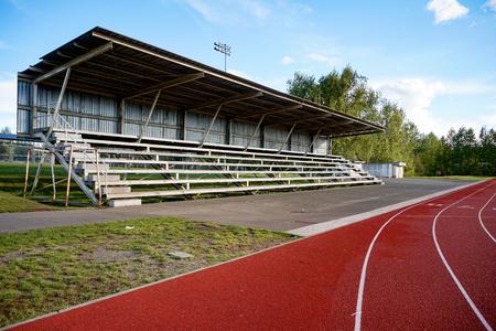 Track Field Bleachers