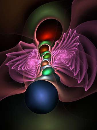 apophysis: Electric glow fractal