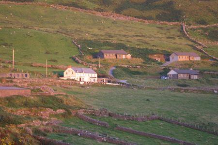 landschap van Ierland
