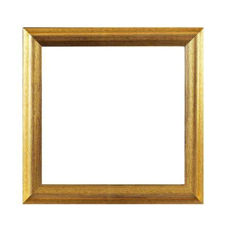 Odosobniona ramka na zdjęcia, drewniana antyczna ramka na zdjęcia.