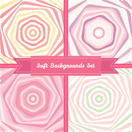 pastel backgrounds: soft vortex abstract backgrounds set in sweet pastel colors