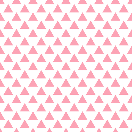 bedclothes: Vector geometric pink seamless pattern. Simple background