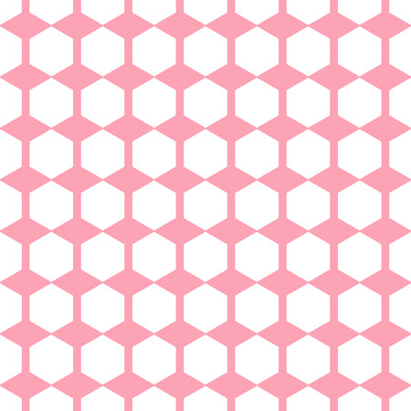 bedclothes: Vector minimalistic geometric pink seamless patterns set. Simple backgrounds