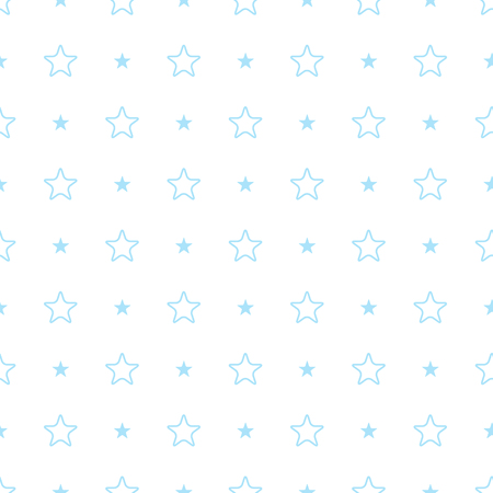 Vector geometric light blue seamless pattern. Simple background