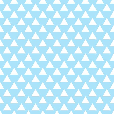 marriage bed: Vector geometric blue seamless pattern. Simple background