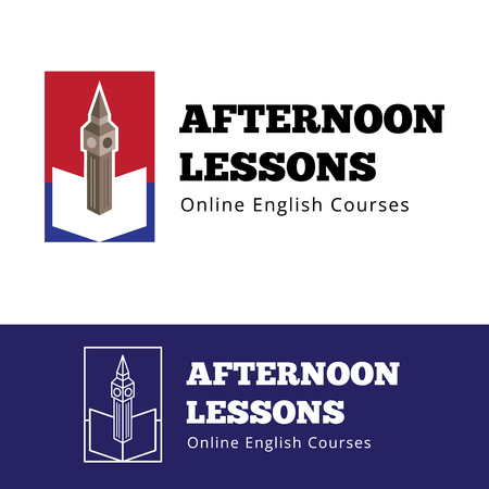 english book: Vector english courses  concept with big ben and open book. English lessons  with outline version Illustration