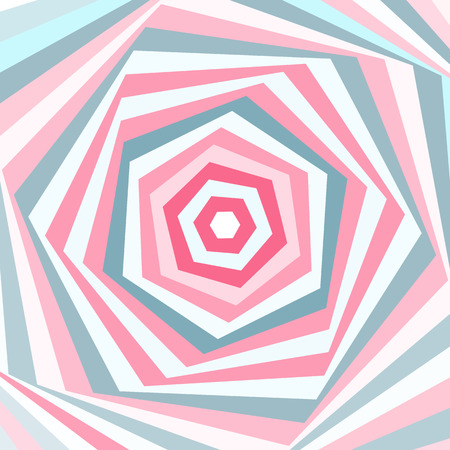 scrap: Vector abstract geometric background in soft pastel colors