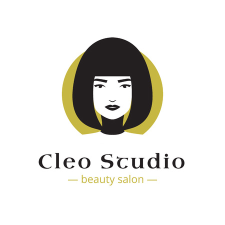 cleopatra: Vector minimalistic beauty studio