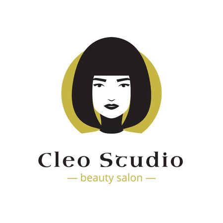 minimalistic: Vector minimalistic beauty studio