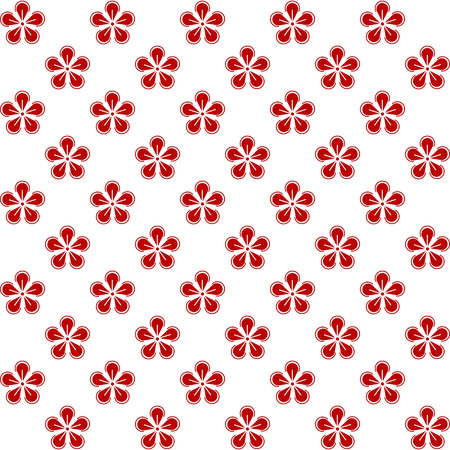Oriental asian traditional japanese korean chinese floral patterns decoration elements,web online concept page background,asians style.Chinese tradition ornate geometric flower seamless pattern,