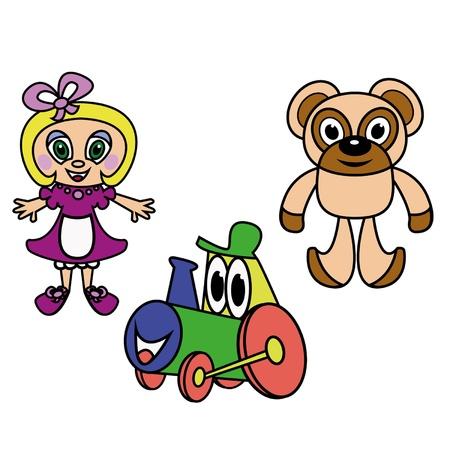 Toys Stock Vector - 21585951