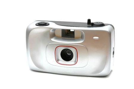 simple film photo camera Stock Photo