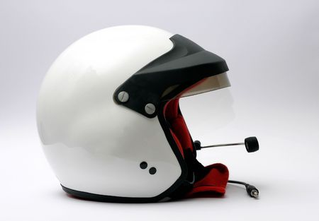 eltor equipped rally racing helmet Stock Photo - 221390
