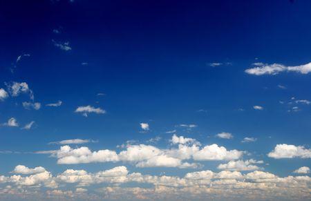deep blue sky Zdjęcie Seryjne