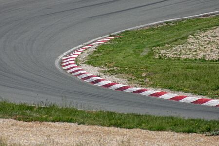 turn on the race track