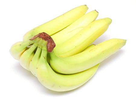 banana fruits isolated