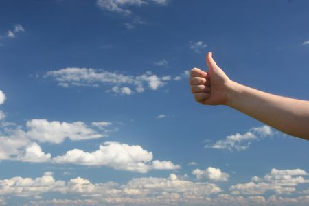 thumbs up Stock Photo - 226278