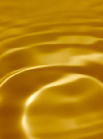Background from golden liquid