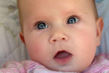 Curious dziecka Zdjęcie Seryjne